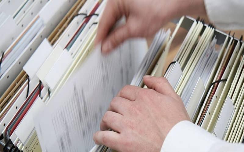 lưu trữ hồ sơ tín dụng