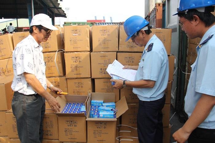 Kiểm hóa hàng hóa xuất khẩu