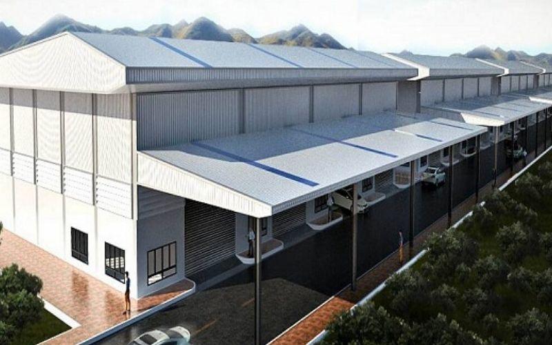 Mẫu nhà xưởng công nghiệp nhiều tầng
