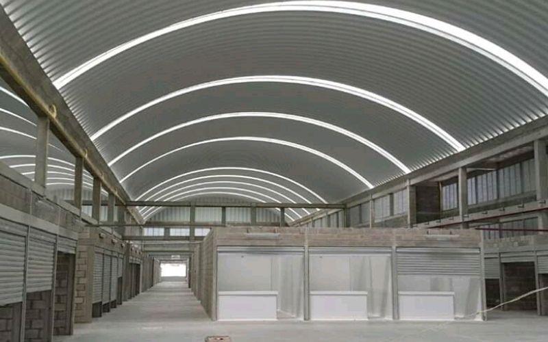 Mẫu nhà xưởng công nghiệp mái vòm